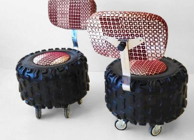 Design objects - OFF ROAD RIDER SEATS - BERNARD COLL DESIGN