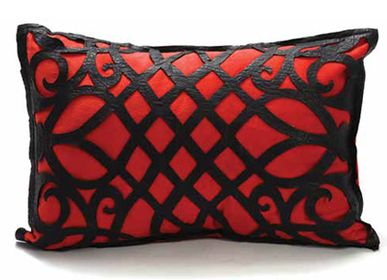 Cushions - KARMA Duo - (Egypt) Cairo Leather cluster - CREATIVE MEDITERRANEAN
