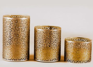 Table lamps - CANDLES - (Morocco) Marrakesh Creative Interiors Cluster -MCIC - CREATIVE MEDITERRANEAN