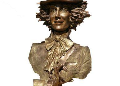 Sculpture - Monsieur Happiness - VIDELI