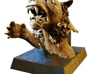 Sculpture - Tiger - VIDELI