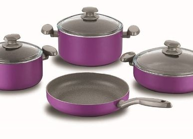 Frying pans - ERGUVAN Granite Cookware Set - KORKMAZ