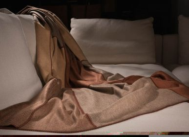 Throw blankets - 12 Pieces Hand Sewn - ARTIGIANI DEL CASHMERE