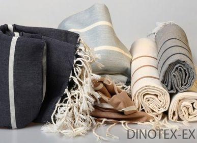 Fabrics - fouta 4 franges - DINOTEX