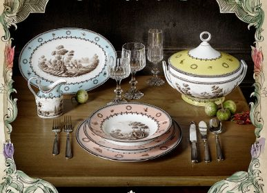 Assiettes de reception - Paesaggi Collections - RICHARD GINORI 1735