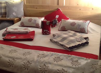 Throw blankets - PLAIDS ET COUSSINS - BIELLA FABRICS