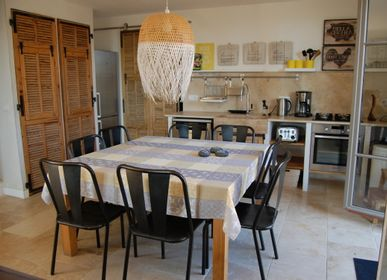 Linge de table - Nappes Jacquard - L' ENSOLEILLADE / VALDROME