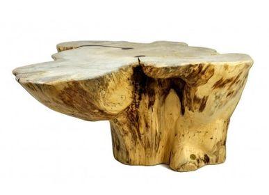 Tables basses - Table basse tronc - PRES-BOIS MEUBLES TRONCS