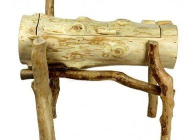 Boite de rangement - Meuble tronc horizontal - PRES-BOIS MEUBLES TRONCS
