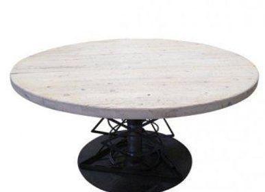 Tables - TABLE REGLABLE EN FER - ARXE