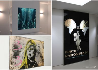 Panels - Laminated Glass with digital printing of high resolution  - WIDINGLASS by Biselarte