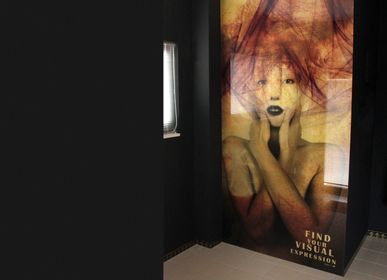 Decorative frescoes - Laminated Glass with digital printing of high resolution  - WIDINGLASS by Biselarte