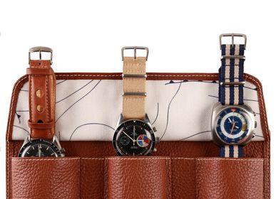Personalizable objects - Watch roll PLOUMANAC'H - AVEL & MEN