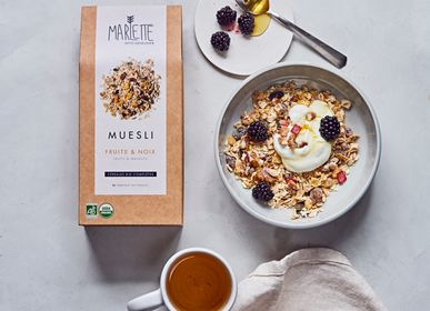 Delicatessen - Organic walnuts & fruits muesli - MARLETTE