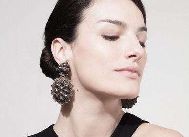Bijoux - Boucles d'oreilles GRETA, Collection Le jeu des perles - ATELIER GODOLÉ