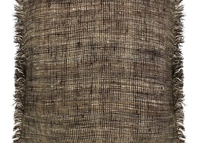 Cushions - Desi Naturals Hand Woven Wool Cushions - STITCH BY STITCH
