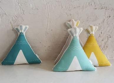 Children's bedrooms - TIPI CUSHION - ILA Y ELA