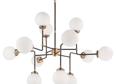 Ceiling lights - Bistro Medium Chandelier - VISUAL COMFORT