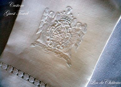 Bed linens - GUEST TOWELS  - LINHO DO CASTELO - LIN DE CHATEAU