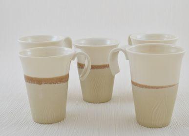 Tasses et mugs - Tasses à Thé Marron Glacé - OZECLORE