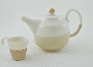 Platter, bowls - Tea-pot Marron Glacé - OZECLORE