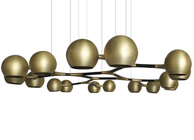Decorative objects - HORUS Suspension Light  - BRABBU DESIGN FORCES
