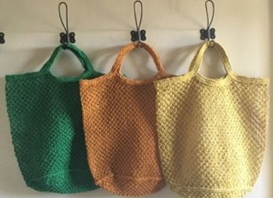 Bags and totes - Jute macrame bag large - MAISON BENGAL