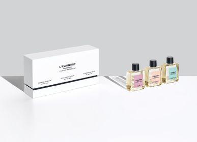 Parfums d'intérieur - L'EAUNDRY Miniatures Gift Set 3 x 60ML - L'EAUNDRY FRAGRANCE DETERGENT