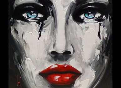 Décoration murale - Céline Lust oeuvre originale sur toile - AMEYE LILLE