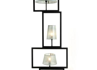 Lampadairesextérieurs - le carré de lampe - METALSPIRIT