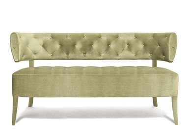 Small sofas - ZULU 2 Seat Sofa - BRABBU DESIGN FORCES