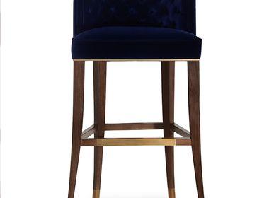 Chaises - Chaise de bar BOURBON - BRABBU DESIGN FORCES