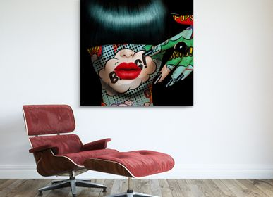 Wall decoration - PRESENTATION ARTIST MONIKA NOWAK - EYEFOOD FACTORY