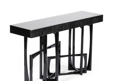 Console tables - Black METROPOLIS Console Table - BOCA DO LOBO