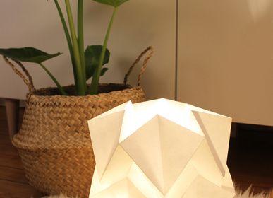 Objets design - Lampe de table HIKARI ECO WOOD - TEDZUKURI ATELIER