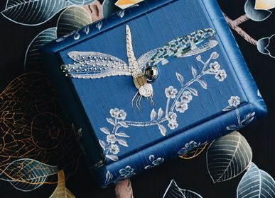 Caskets and boxes - Hand-painted Jewellery box - LALA CURIO LIMITED
