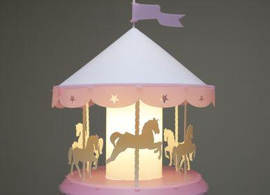 Hanging lights - CAROUSEL Ceiling Light PINK - R&M COUDERT