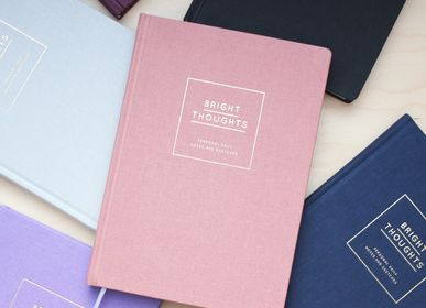 Stationery - Diary/Notebook Hardcover – Bright Thoughts - NAVUCKO.