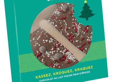 Chocolate - Oeuf dentelle - Chocolat Noir / Lait / Blanc - MONBANA - OKAKAO