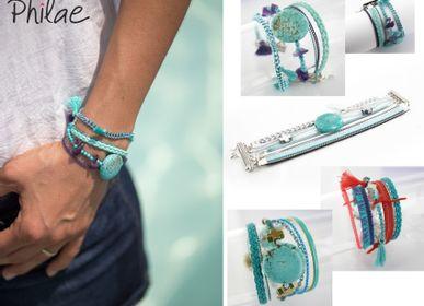 Jewelry - Magnetic stones & crystal cuff - PHILAE PARIS