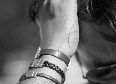 Jewelry - Men Bracelets in leather - PHILAE PARIS