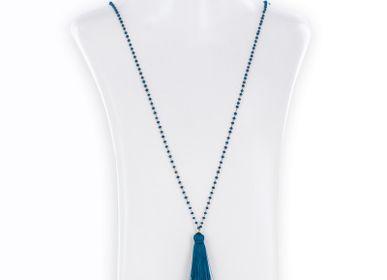 Jewelry - Silk tassel  long necklace - PHILAE PARIS