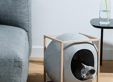 Small sofas - The Cube Wood Edition - MEYOU PARIS