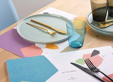 Objets design - BLOC DE SETS DE TABLE - PAPIER MERVEILLE