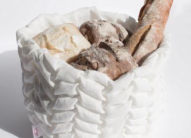 Objets design - Spica / corbeille à pain fait main en chanvre - MOLFO
