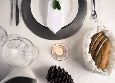 Design objects - Rigel / handmade hemp bread basket - MOLFO