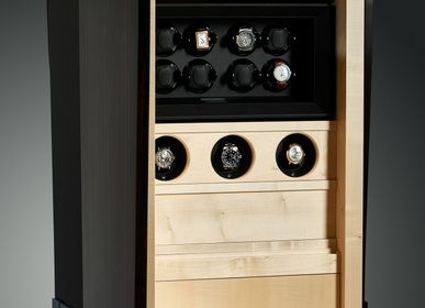 Wardrobe - Secret cabinet for watches Chronos - IOTA ELEMENT