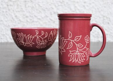 Tasses et mugs - Tasse à café Mughal - Rose saumonée - ARTIZEN