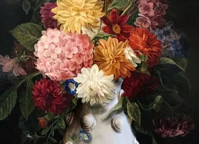 Flower pots - Vase Mademoiselle design by Mathilde Carron-Astier de Villatte - CARRON PARIS
