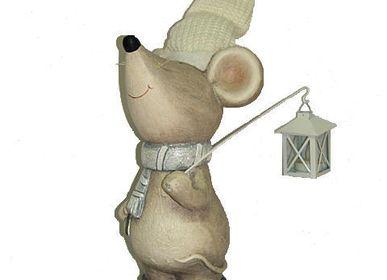 Sculptures / statuettes / miniatures - mouse ceramic  42x24x21 cm  - COZIC